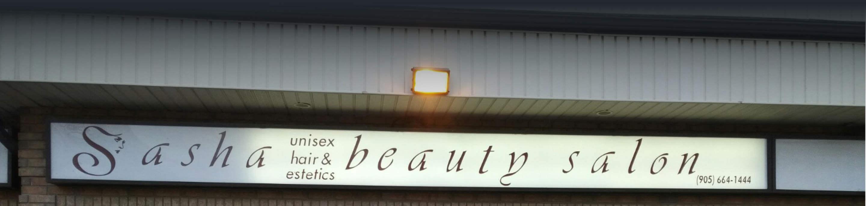 Sasha Salon: Unisex Hair and Aesthetics